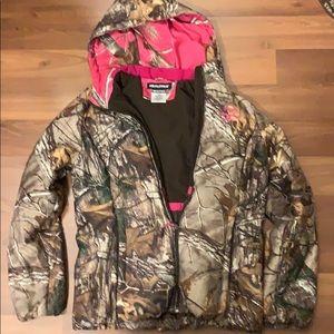 Women's real tree camo coat